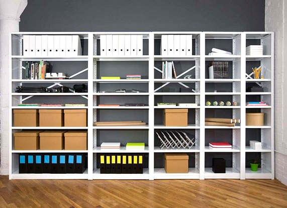 Commercial Steel Shelving Racks By JustShelfit.com