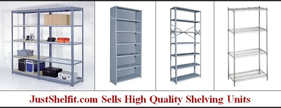 Just Shelfit – Information About Steel Shelving Racks For Storage Unit Systems – Adaptable Metal Shelves For Storage