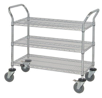 Our Wire Carts Are Made To Be Utilized For Different Purposes. They Are  Easy To Handle For Transport Or Storage Supplies.